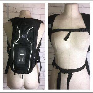 ful EUC black hiking hydration cargo backpack